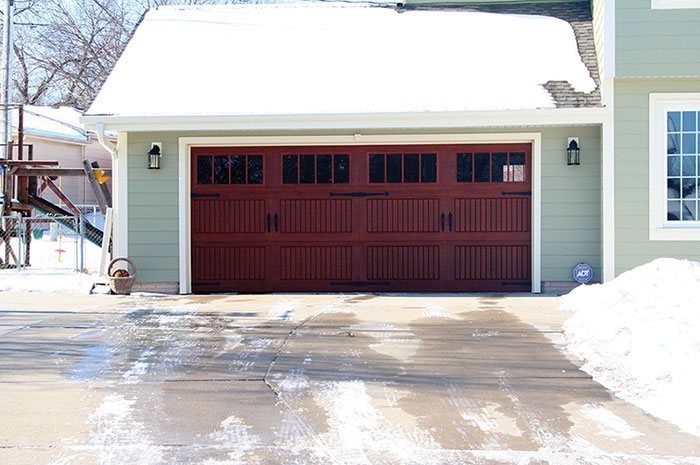 Garage Door Winterization